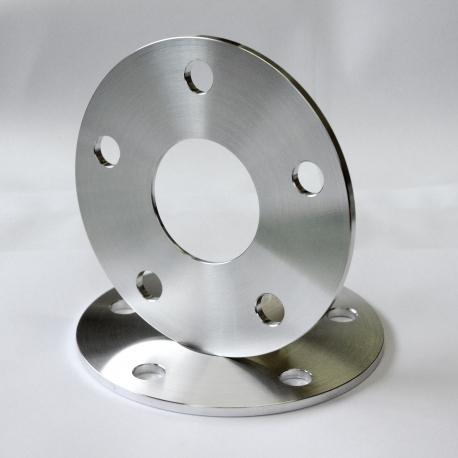 Cales d'élargissement de voies simple boulonnerie en aluminium